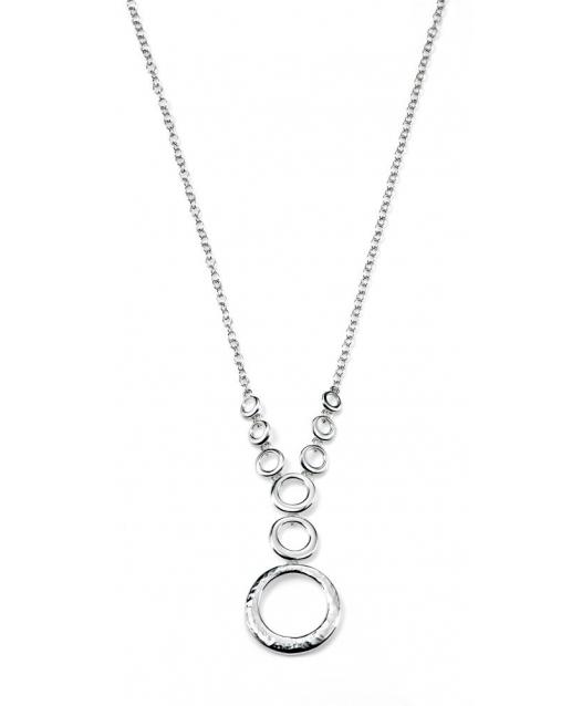 Collana elegante in argento...