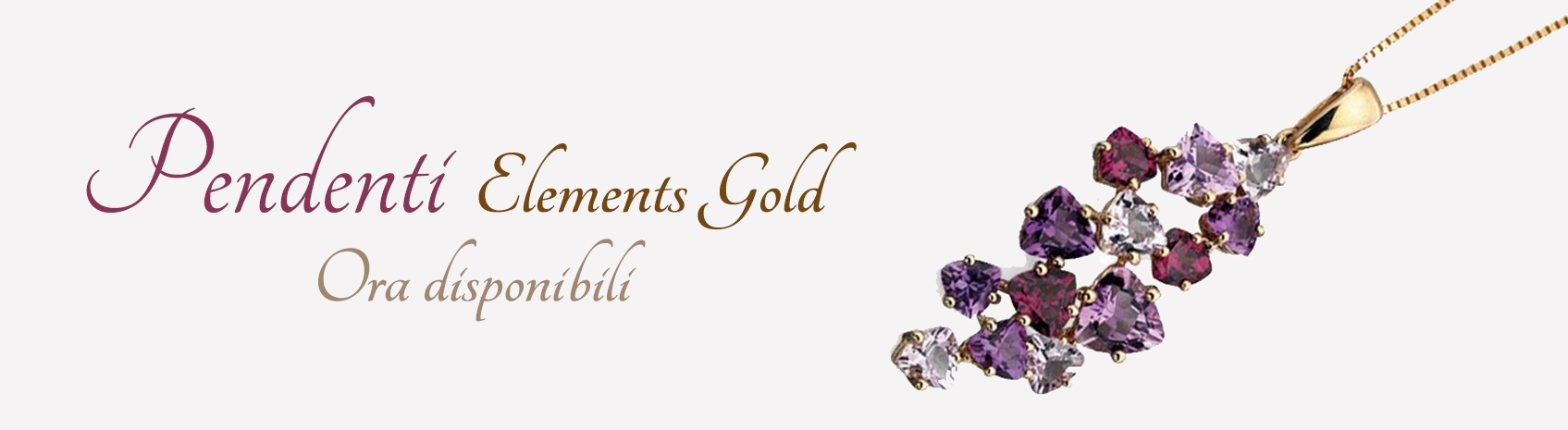 Pendenti collection gold